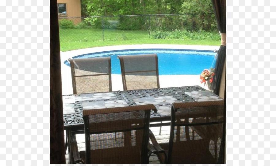 Terrasse Sonnenliege Hinterhof Pool Eigenschaft Familie Am