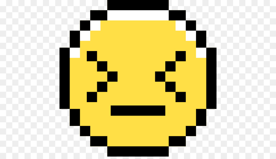 Pixel Art Smiley Png Download 512512 Free Transparent