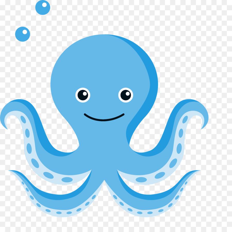 Octopus Cartoon Download Clipart Fundo Do Mar Png