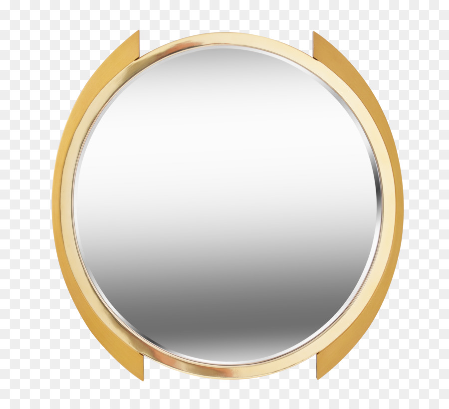 Gold Circle Png Download 2444 2212 Free Transparent Mirror Png Download Cleanpng Kisspng