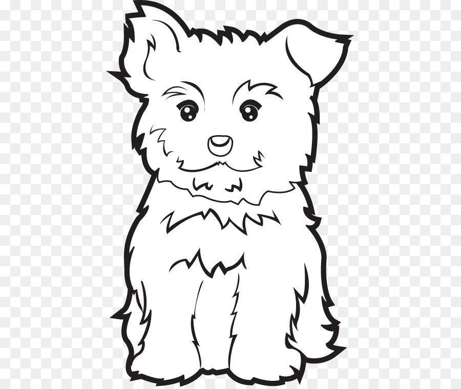 Yorkshire Terrier Libro Da Colorare Cucciolo Morkie Yorkipoo
