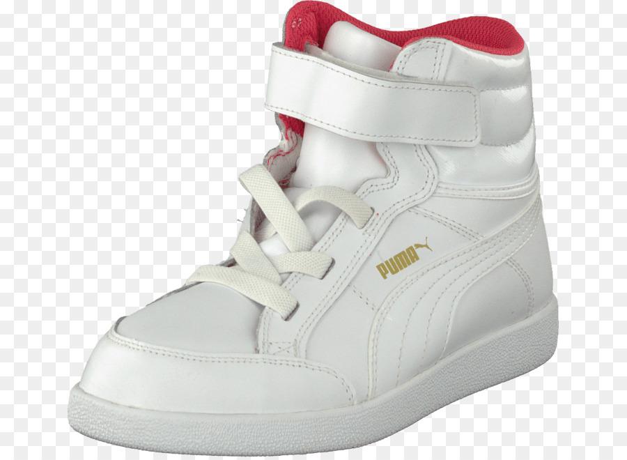 Scarpe Da Ginnastica Di Puma Scarpa, Vestito Di Bianco