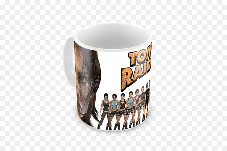 Taza Tomb Raider Lara Croft