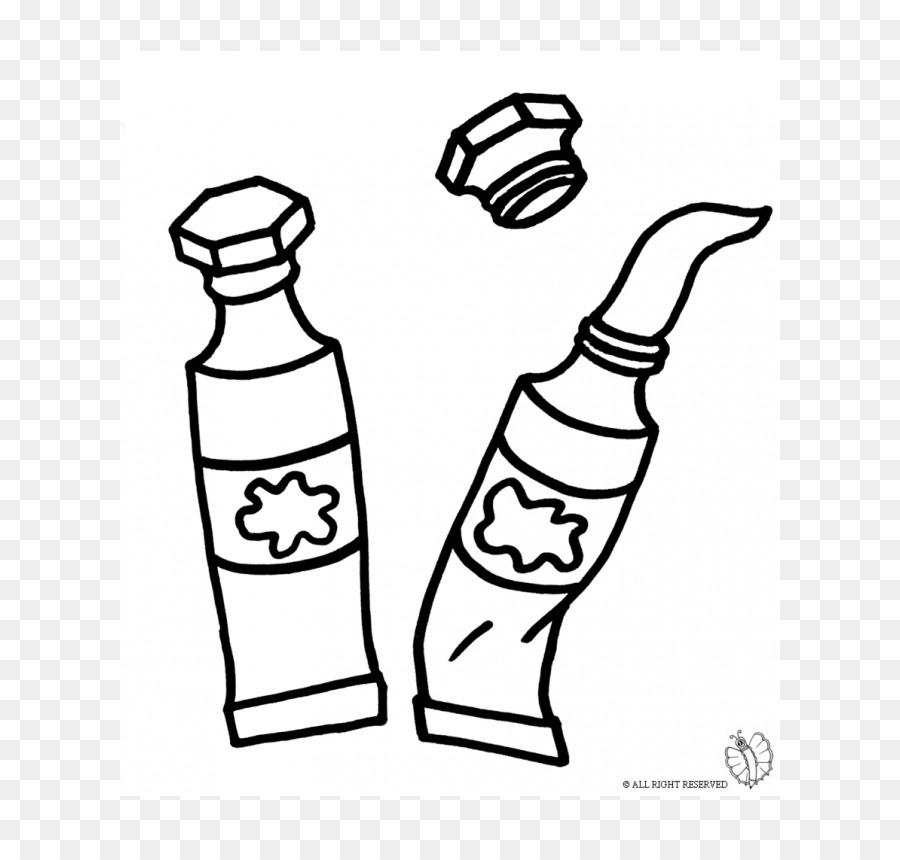 Cartoni Animati Immagini Da Colorare.Disegno A Tempera Pennello Di Cartoni Animati Da Colorare