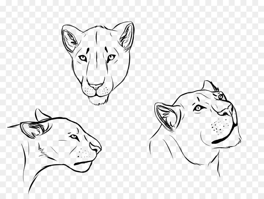35 löwenkopf skizze löwe zeichnen