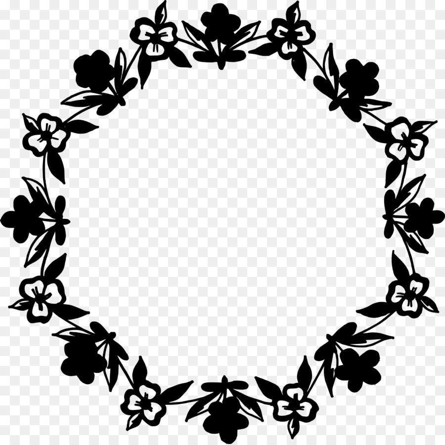 Black And White Flower png download   2020   Free Transparent ...