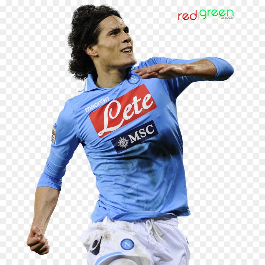 Edinson Cavani S S C Napoli Maglia Calcio Uniformi Cheerleading Calcio Scaricare Png Disegno Png Trasparente Blu Png Scaricare
