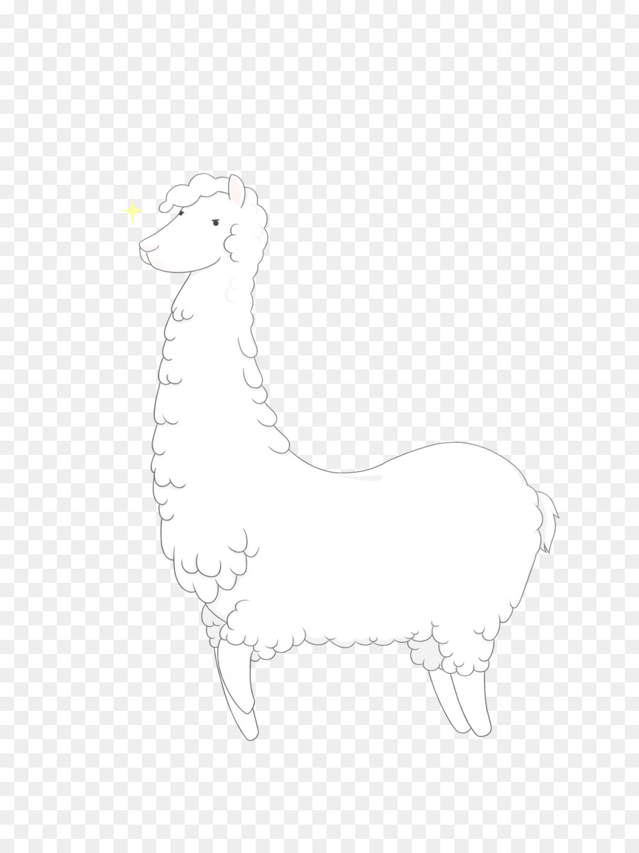Llama Cartoon Png 1948 2572 Free Transparent