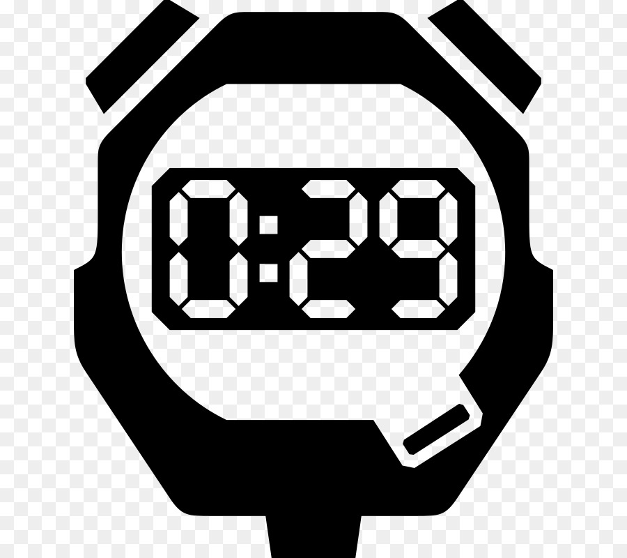 Digital Chronometer Png