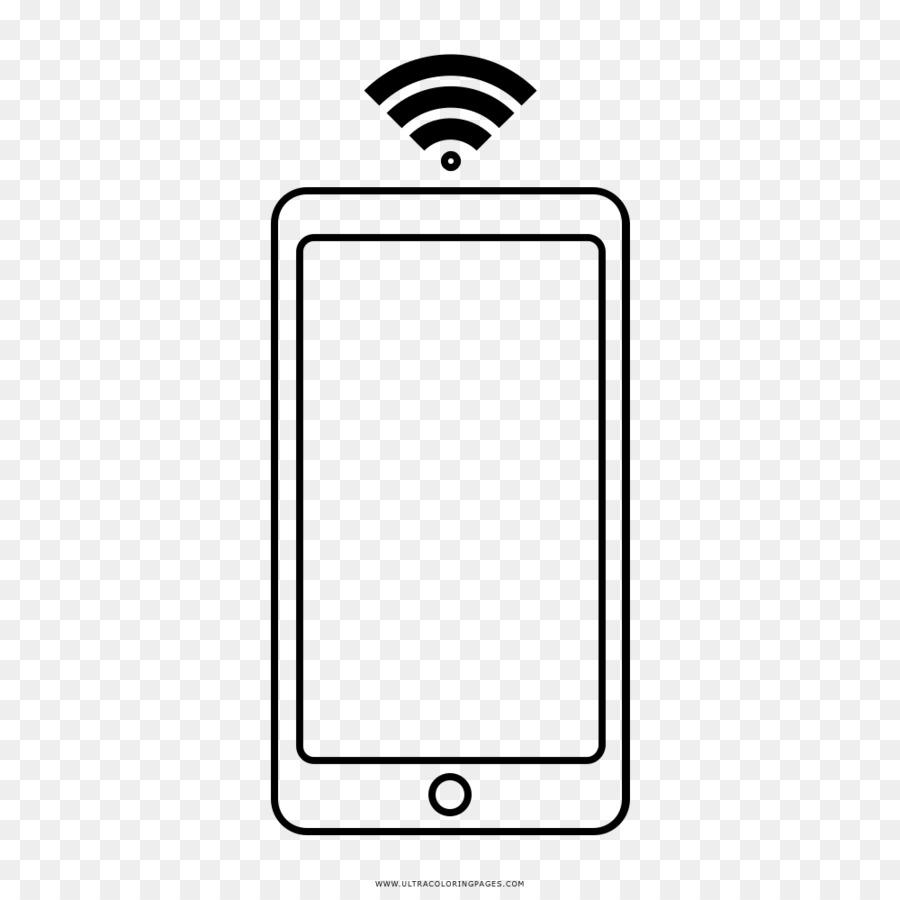 Iphone X Libro Da Colorare Disegno Wi Fi Mifi Telefono Di Disegno Scaricare Png Disegno Png Trasparente Bianco Png Scaricare