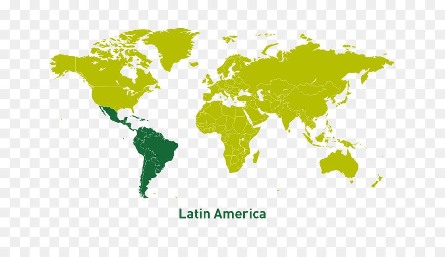 Weltkarte Lateinamerika Anzeigen Png Herunterladen 900 501