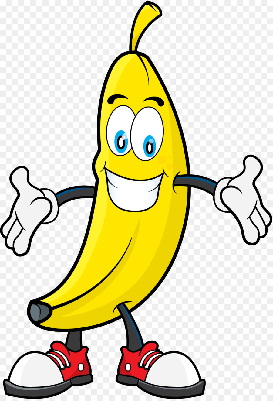 Banana Clipart Black And White Png Download 1065 1555 Free Transparent Banana Png Download Cleanpng Kisspng