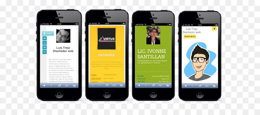 Smartphone Visitenkarte Für Feature Phones Digital Data