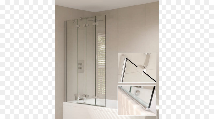 Badezimmer mit einer Duschkabine Faltwand Tür - Dusche png ...