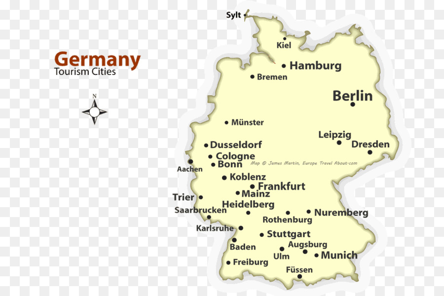 Tourist Map Of Germany With Cities.Travel World Map Png Download 960 640 Free Transparent Germany
