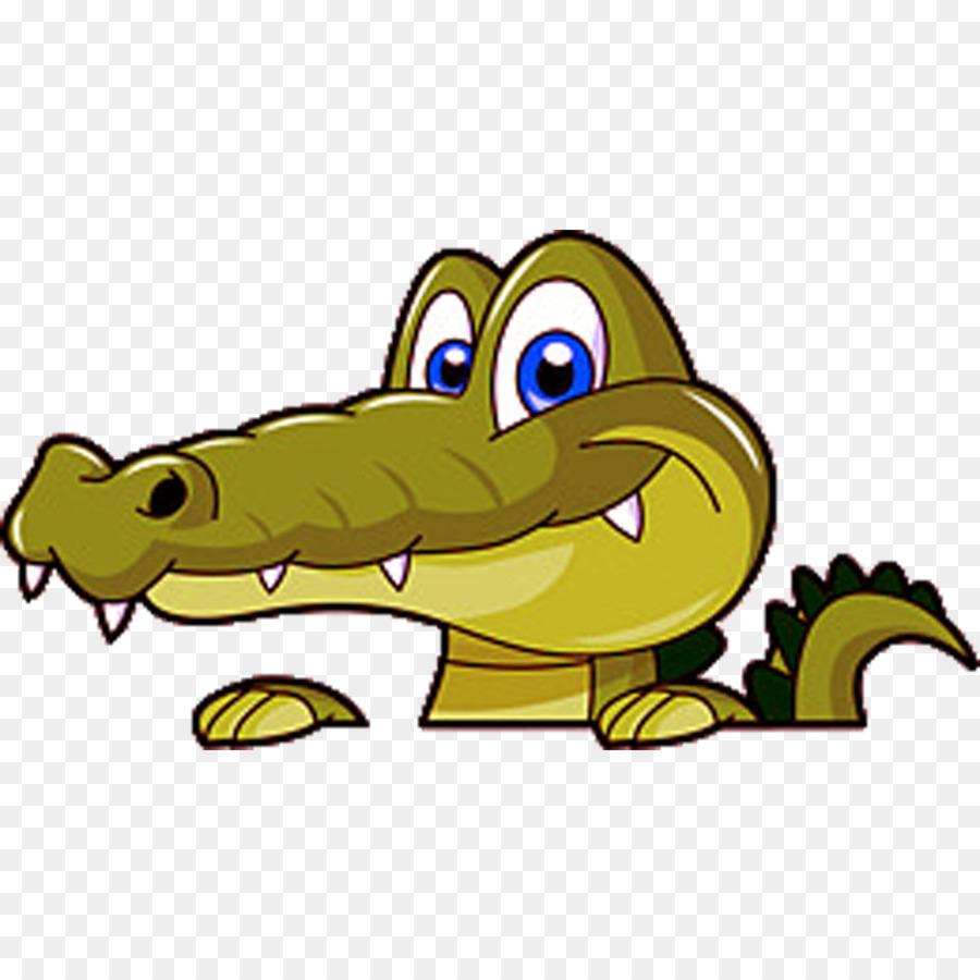 Crocodile Cartoon Png 1083 1083 Free