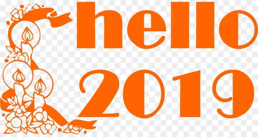 Happy New Year Orange 37
