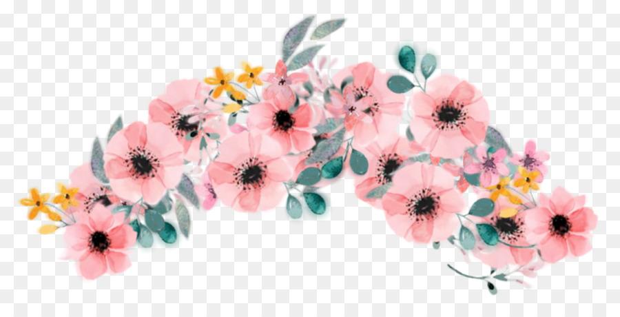 Floral Flower Background Png Download 1475 732 Free