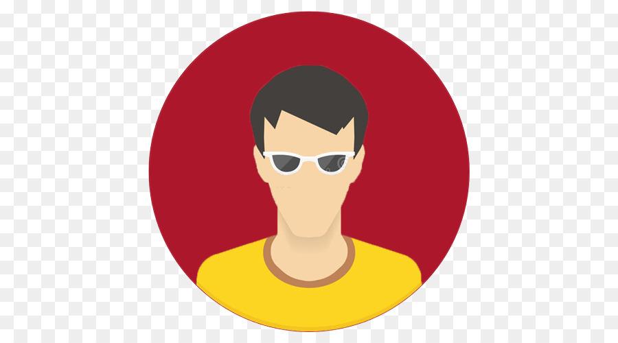 Vektor Grafiken Avatar Mobile App Die Website Benutzer Mitarbeiter Png Herunterladen 500 500 Kostenlos Transparent Brillen Png Herunterladen
