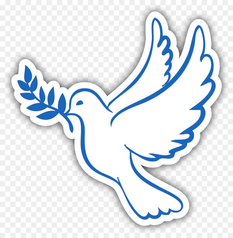 Tauben Als Symbole Der Taufe Heiligen Geist Erstkommunion