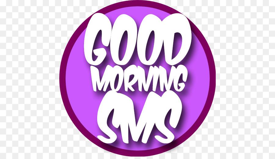 Logo Schriftart Pink M Marke Produkt Guten Morgen Grüße