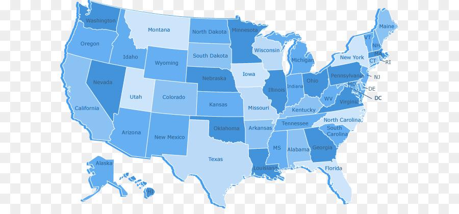 Vereinigte Staaten-Map-Grafiken US-state-Bild - die ...