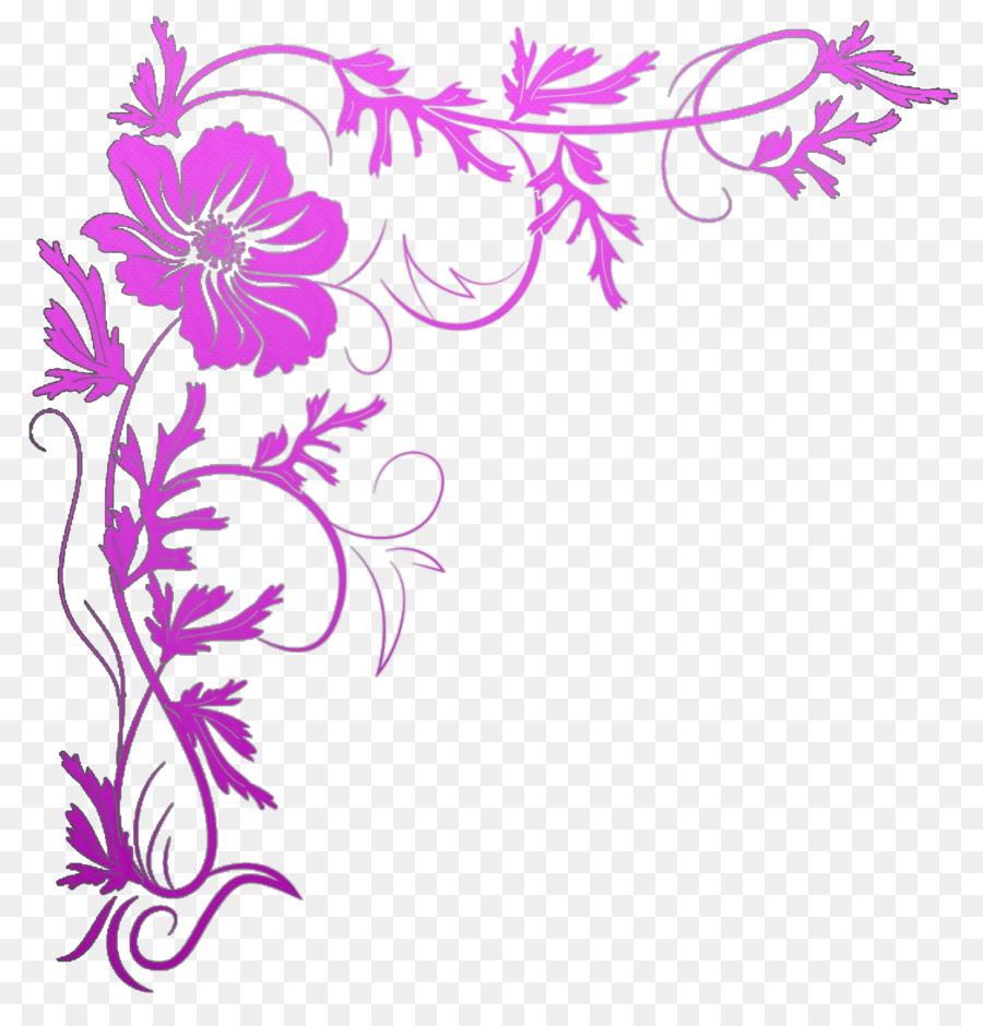 Floral Wedding Invitation Background Png Download 1312
