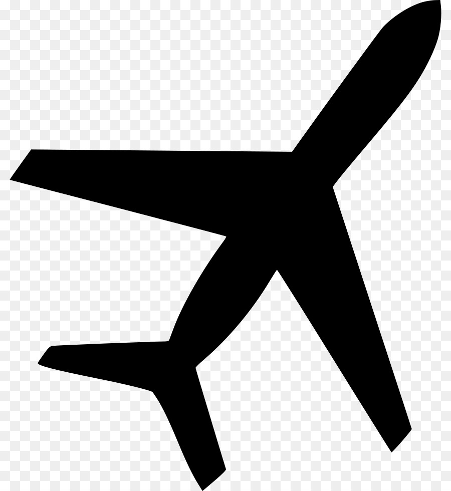 Airplane Silhouette Png Download 862 980 Free Transparent