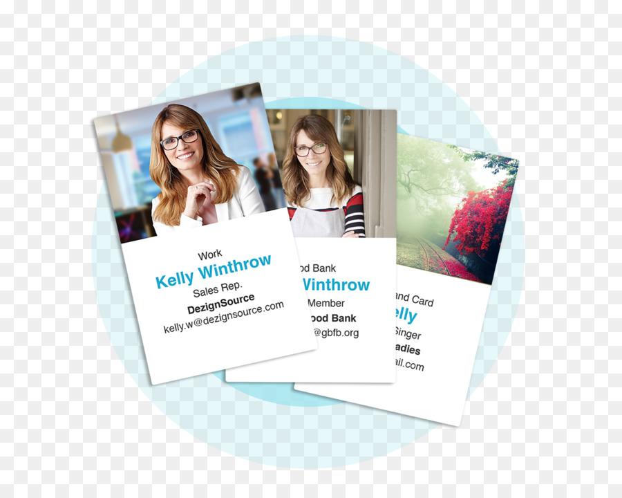 Werbung Marke Produkt Digitale Visitenkarte Png