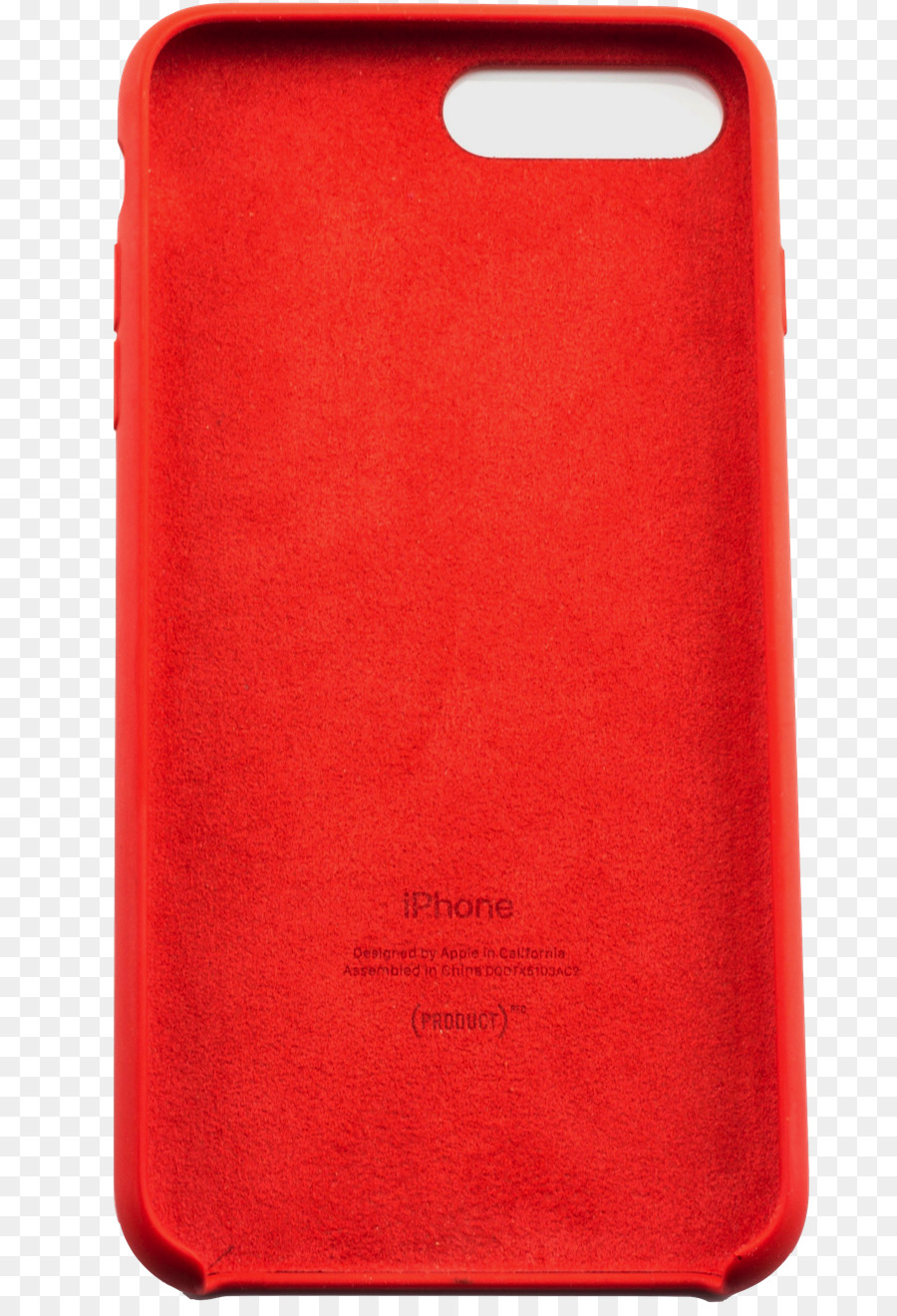 Custodia in silicone per iPhone 8 Plus / 7 Plus - (PRODUCT)RED