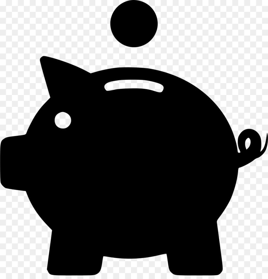Копилка свинья картинка графика
