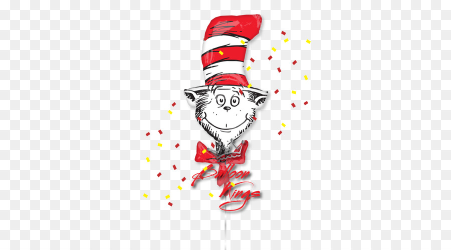 Dr Seuss Cat in The Hat Grinch Christmas Party Balloon Bundle