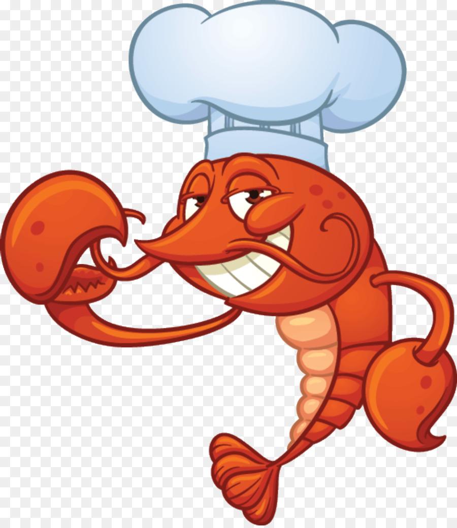 Shrimp Cartoon Png Download - 1043*1200 - Free Transparent Lobster