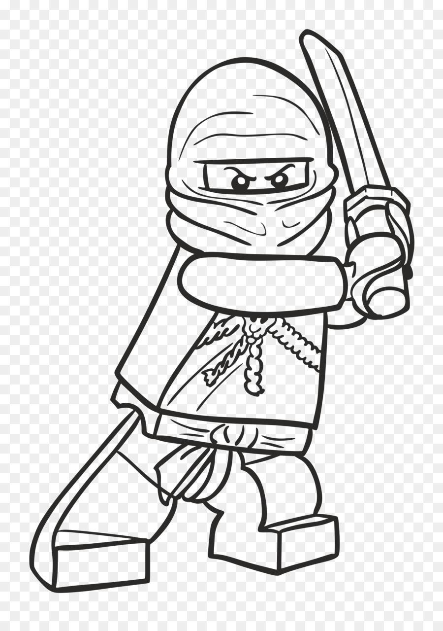 Lloyd Garmadon Libro Da Colorare Ninja Lego Disegno Ninja