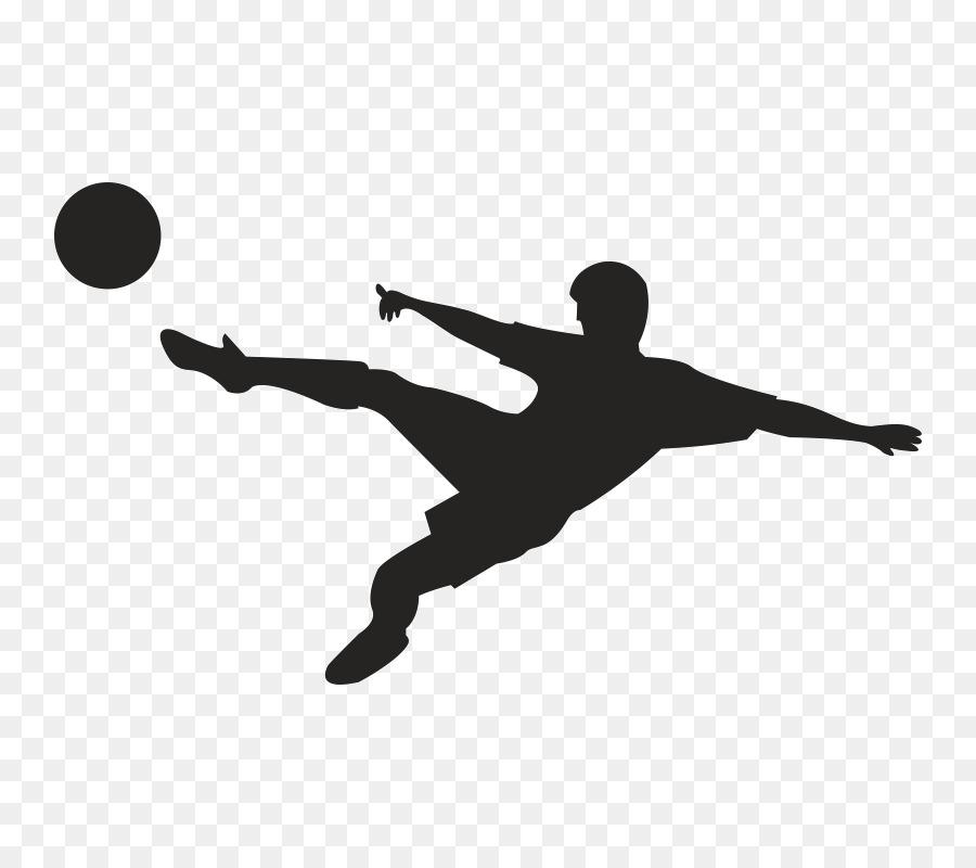 Fussball Spieler Clipart Vektor Silhouette Grafik American