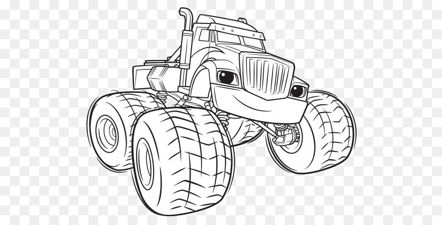 malvorlagen monster truck kostenlos