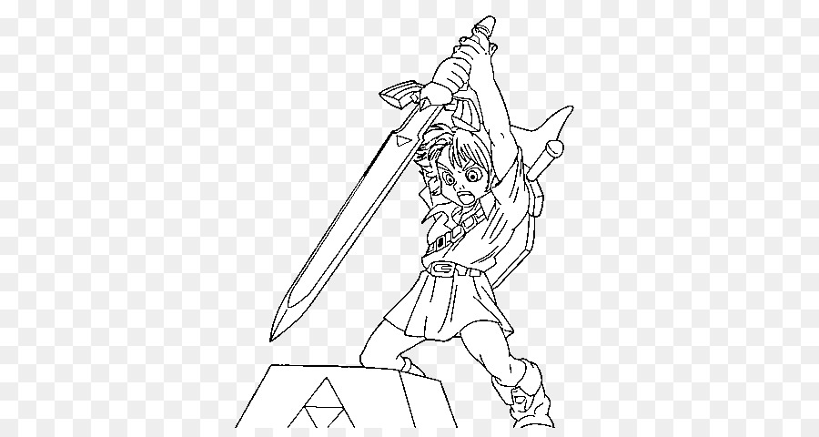 Free Printable Zelda Coloring Pages For Kids | 480x900