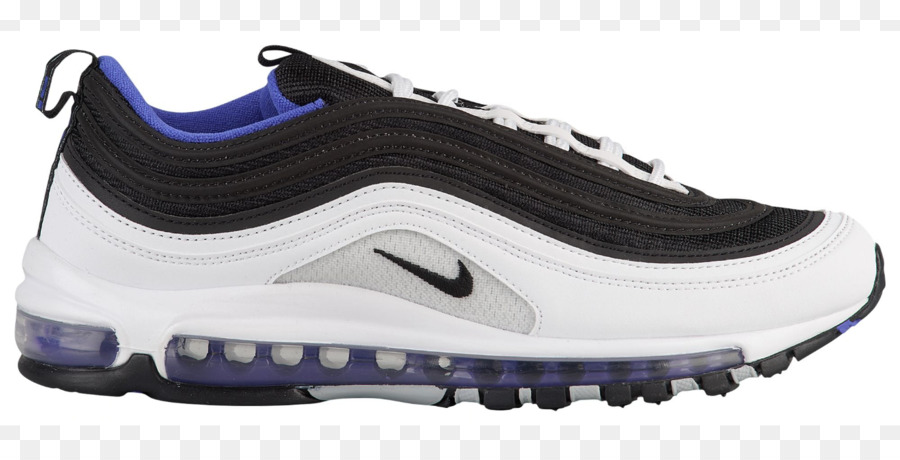 Nike Air Max 97 Herren Sneaker Sport Turnschuh Schwarz