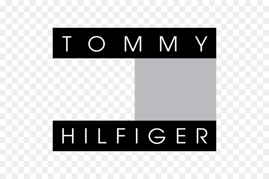 tommy hilfiger logo black and white