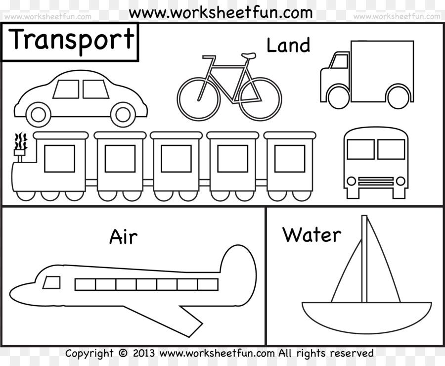 Malbuch Malvorlagen Wasser Transport Zug Zug Png Herunterladen