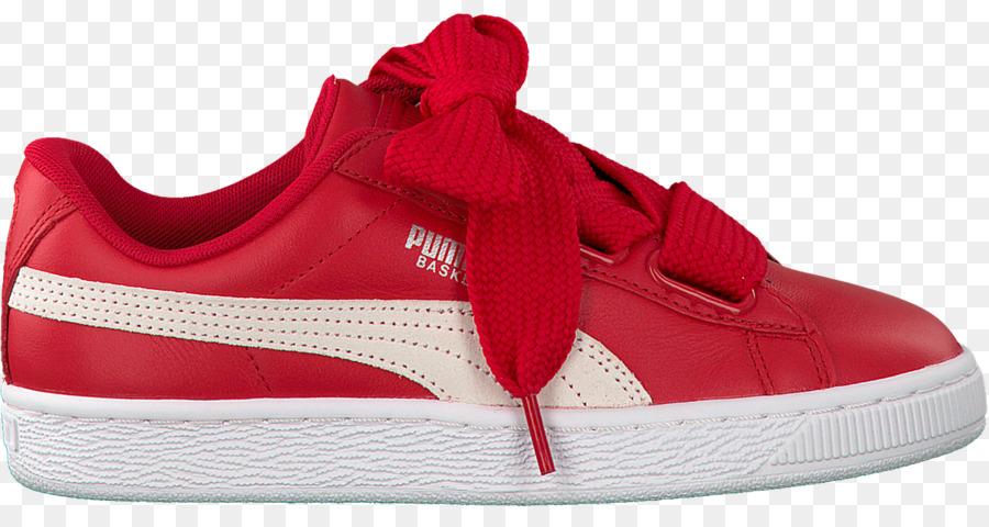 Scarpe sportive Puma Basket Cuore di Brevetto Adidas