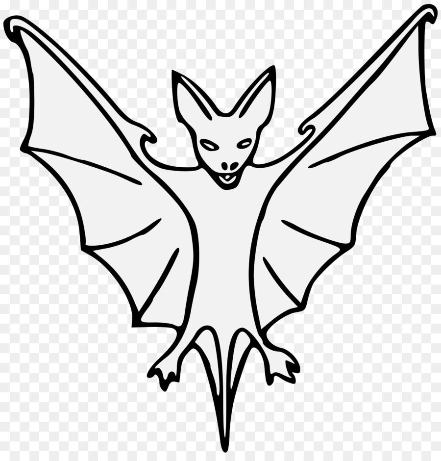 Рисунок летучей мыши карандашом