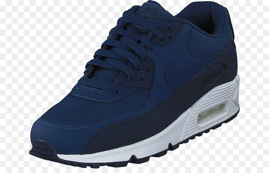 Sportschuhe Herren Nike Air Max 90 Essential Blau Nike png