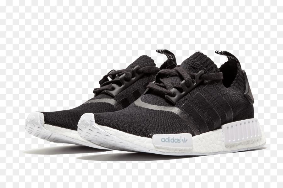 Sport Schuhe Adidas NMD R1 Primeknit Schuhe Weiß Adidas