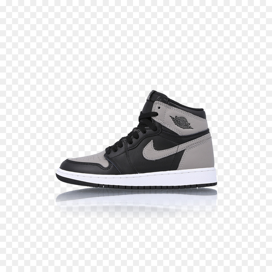 Sport Schuhe Air Jordan 1 Retro High BG, SchwarzGym rot