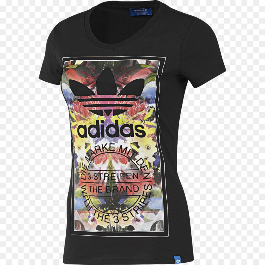 Womens Adidas Originals Passaredo Boyfriend T Shirt Multi