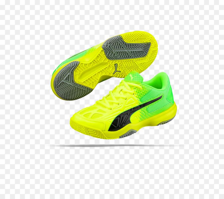 Skate Schuh von Puma Sport Schuhe Sportswear gelbe puma
