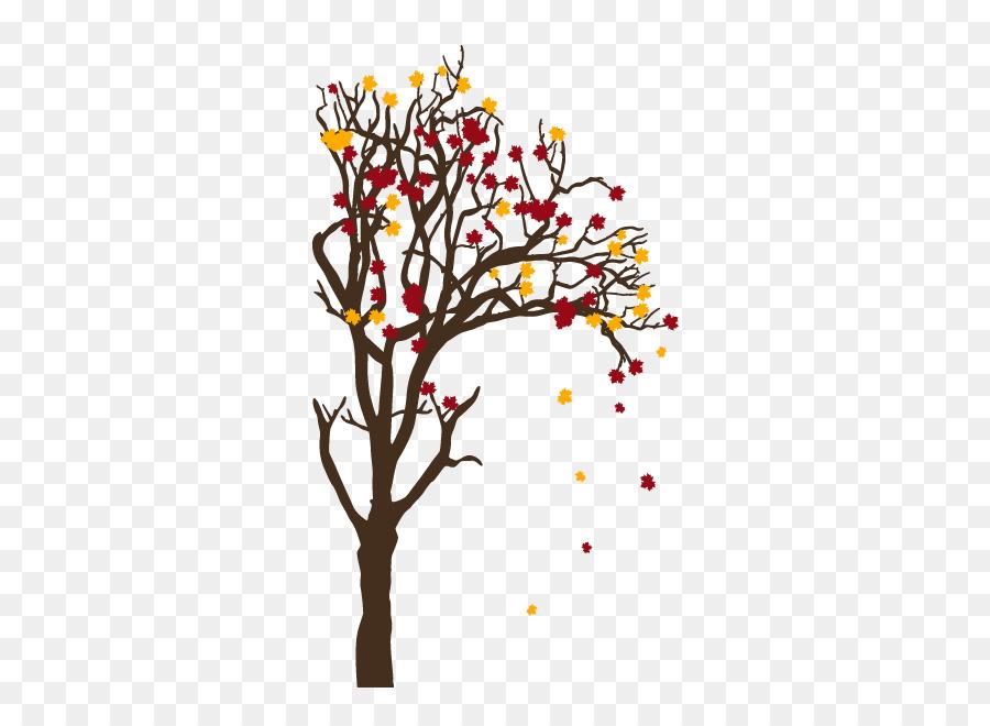 Veranstaltungsort Orange Bäume Im Herbst Und Deer Throw