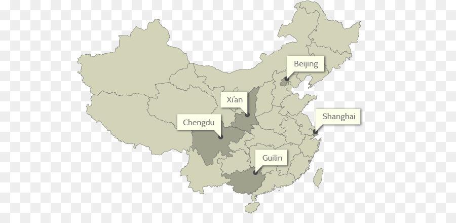 Provinzen von China World map Administrative Aufteilung ...