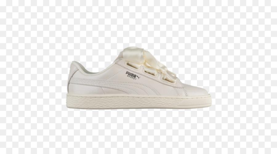 puma basket scarpe beige ragazza